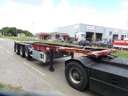 container chassis oplegger Vocol CIC 12/27 30-20 ft tankchassis 1999