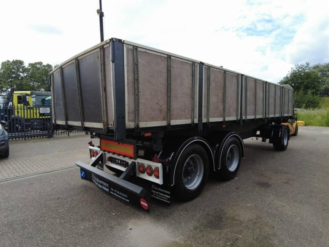 driezijdige kipper vrachtwagen aanhanger Dapa T24 3 Way Tipper 2009