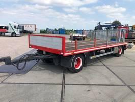 platte aanhanger vrachtwagen DRACO AXS 220 Schamelaanhanger 2000