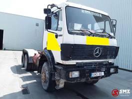 chassis cabine vrachtwagen Mercedes-Benz SK 2635 6x6 13 t axles MOTOR blocked 1999