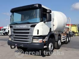 betonmixer vrachtwagen Scania 2007  P 380 EURO 3 8X4 MIXER 2007