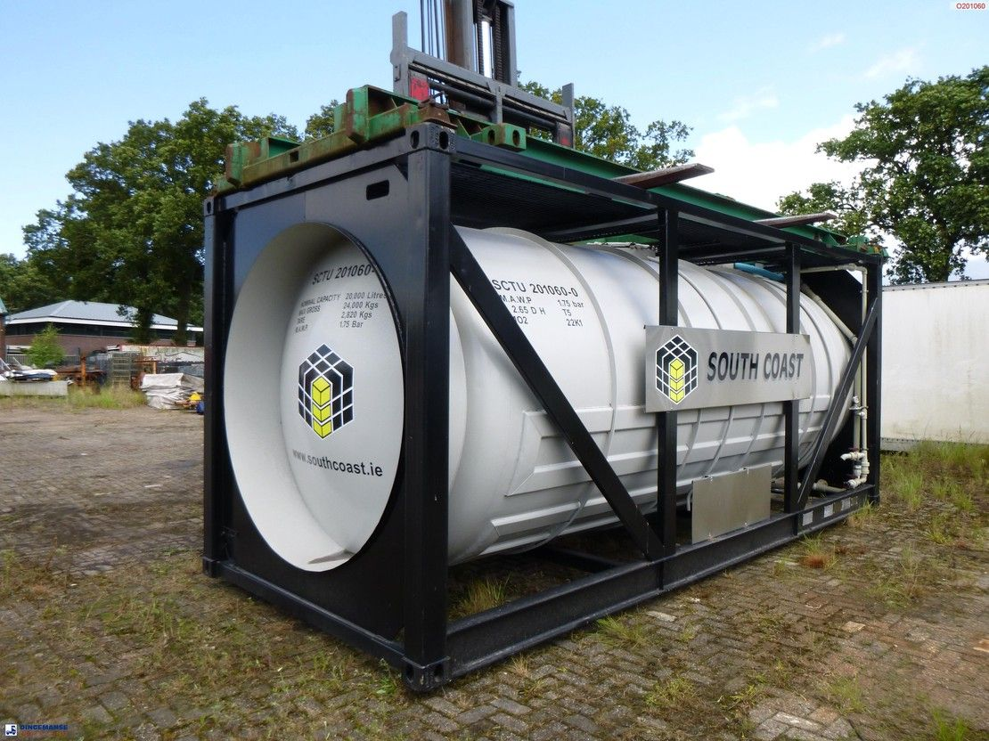 tankcontainer BSL Acid tank container IMO 2 / L2.65DH / 20 ft / 20 m3 1981
