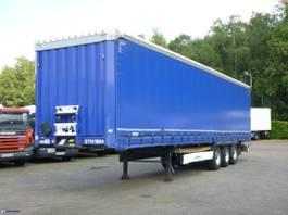schuifzeil oplegger Krone Curtain side trailer 94 m3 2016