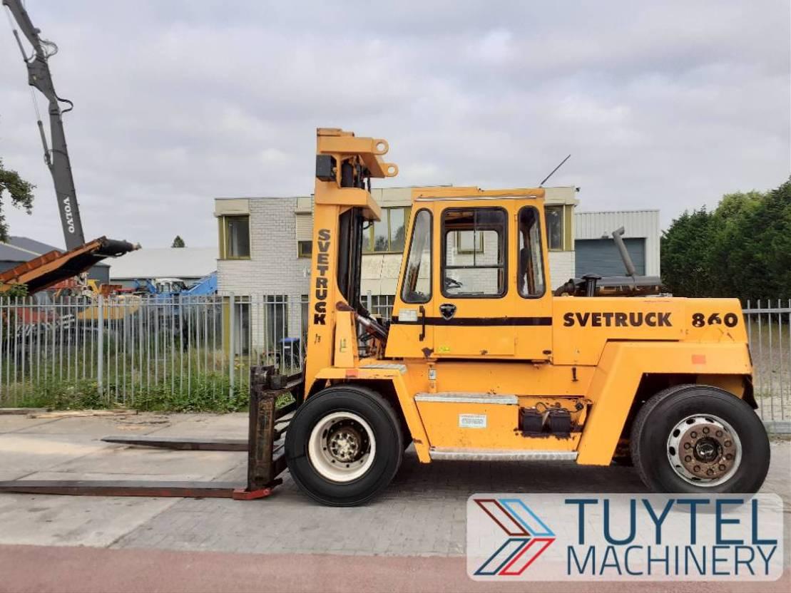 vorkheftruck Svetruck 860-30 8 ton heftruck forklift stapler volvo motor 1989