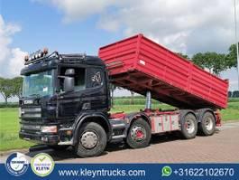 kipper vrachtwagen > 7.5 t Scania R124 8x4 manual steel 2004