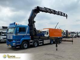 kraanwagen MAN 50.480 + Manual + Fassi F1500XP Crane + 10x4 + Remote 2006