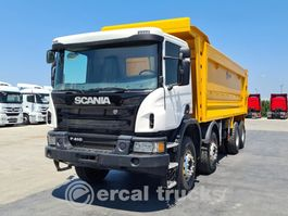 kipper vrachtwagen > 7.5 t Scania 2018 P 410 AUTO AC EURO 6 8X4 HARDOX TIPPER 2018