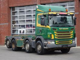 containersysteem vrachtwagen Scania G480 8x2*6 HNB - Cabelsystem - Full air - Euro5 - Automatic - Steering axle 2010