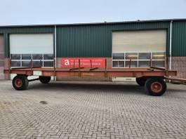 platte aanhanger vrachtwagen Nooteboom industriewagen