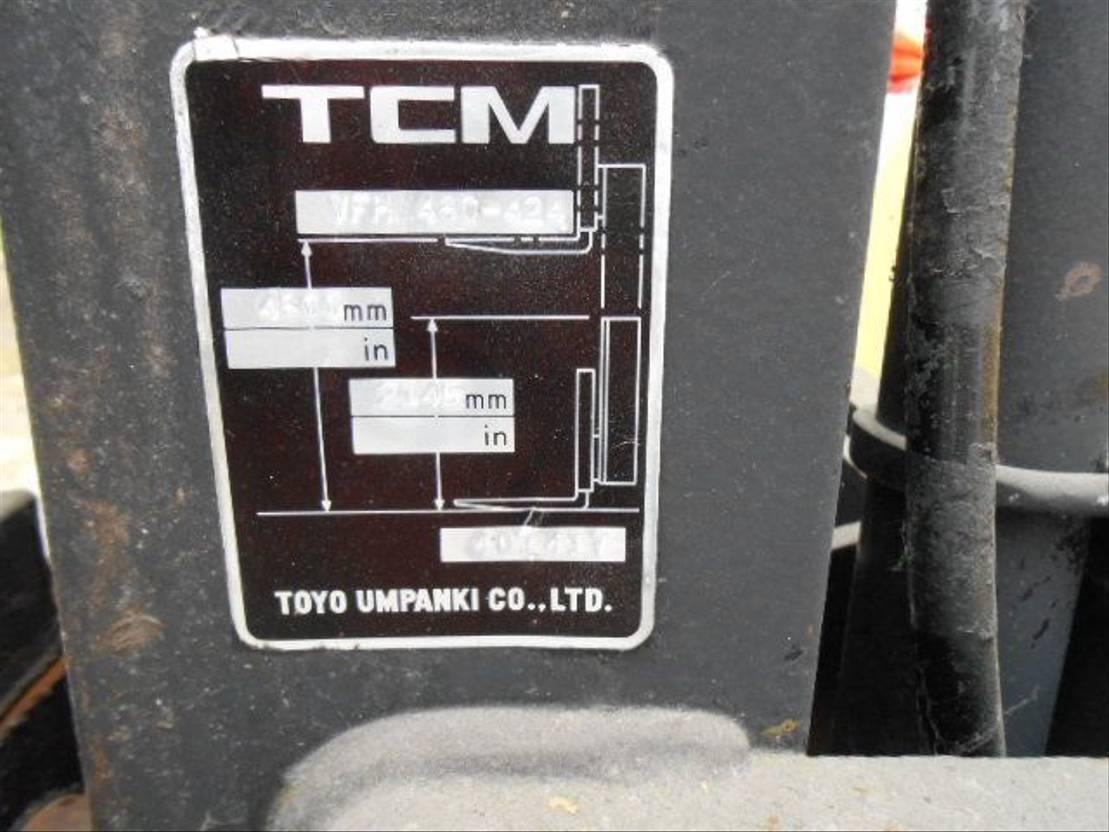 vorkheftruck TCM FG15N16 1990