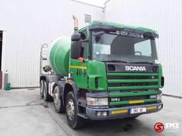 betonmixer vrachtwagen Scania 114 380 2001