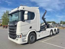containersysteem vrachtwagen Scania R590 NC 8x4/4-3950 tridem 2021