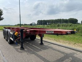 container chassis oplegger Burg 3-Axle 20 FT Chassis / ADR / BPW / Discbrakes 2004