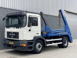 containersysteem vrachtwagen MAN M38/ Manual / Naafreductie / Big axle / Portaalarm 1997