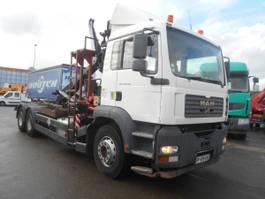 open laadbak vrachtwagen MAN TGA 2005