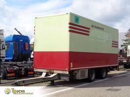 koelwagen aanhanger Fliegl TPS 180 + 2 Axle + TRS Cooling + Dhollandia Lift 2006