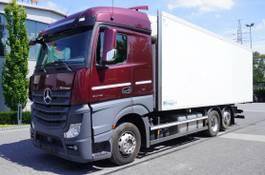 koelwagen vrachtwagen Mercedes-Benz Actros 2542 , E6 , 6X2 , 19 EPAL , retarder , LOW MILEAGE 2015