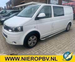 gesloten bestelwagen Volkswagen Dubbelcabine Airco Navi 2013