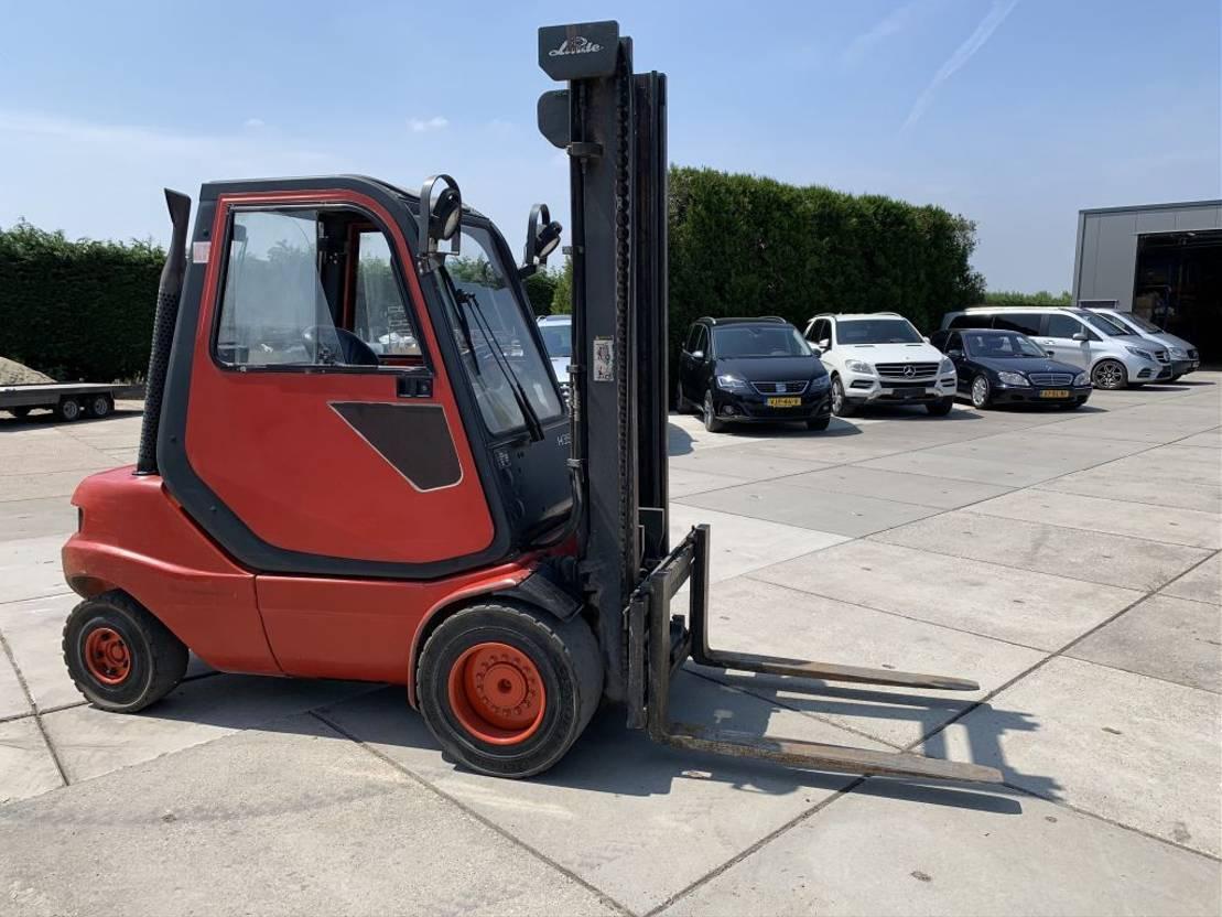 vorkheftruck Linde H35 Heftruck Forklift 3500 KG Diesel 2000