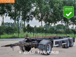 container chassis aanhanger GS Meppel AC 2800 N 3 axles NL-Trailer 1996