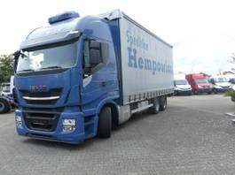 huifzeil vrachtwagen Iveco Stralis 260 AS260S48Y/FP-GV, 2017