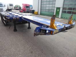 container chassis oplegger D-TEC FT-43-03V,flexi,multi,highcube 45,40,30,20 3x schuiver 2008