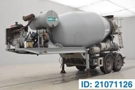 betonmixer oplegger MOL Mixer 10M³ 2011