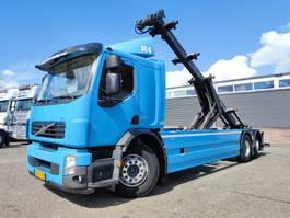 containersysteem vrachtwagen Volvo 62R HalveSlaapCabine 6x2/4 Euro 5 - Manual - Translift kettingsysteem 24... 2010