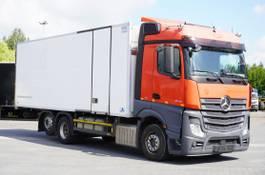 koelwagen vrachtwagen Mercedes-Benz Actros 2542 , E6 , 19 EPAL , MULTI-TEMPERATURE , retarder , 2 be 2016