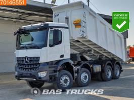 kipper vrachtwagen > 7.5 t Mercedes-Benz Arocs 4145 8X4 Manual Hydraulik Meiller Tipper 20m3 Euro 3 2021