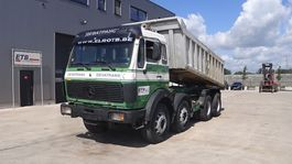 kipper vrachtwagen > 7.5 t Mercedes-Benz SK 3335 (GRAND PONT / SUSPENSION LAMES / 12 ROUES / V8 MOTEUR) 1987
