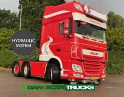 standaard trekker DAF XF 530 Twensteer Full Air suspension Hydr. system Special interior 2020