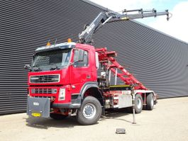 containersysteem vrachtwagen Terberg FM 1350 6x6 / HIAB 22 t/m CRANE + CONTAINER SYSTEM 2004