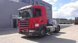 standaard trekker Scania R114 (MANUAL GEARBOX / BOITE MANUELLE / EURO 2) 2000