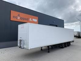 gesloten opbouw oplegger Schmitz Cargobull SKO 24, gegalvaniseerd, volledig chassis, schijfremmen, NL-trailer, APK: 11/2021 2007