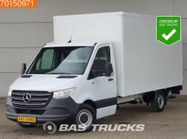 gesloten bestelwagen Mercedes-Benz 316 CDI Bakwagen Laadklep Nwe model MBUX Airco A/C 2018