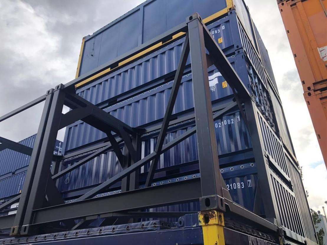 tankcontainer CIMC Leeg frame 2019