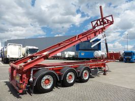 container chassis oplegger LAG Special 30-20 tipping 24 v top condition 2010
