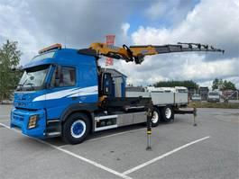 kraanwagen Volvo FM 450 6x2-4600 Globe Euro-6 2015