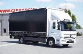 huifzeil bedrijfswagen Mercedes-Benz Atego 1524 , E6 , 90 TYS KM , DMC 15T , firanka 7,2m , winda 1.5 2018