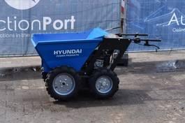mini dumper wiel Hyundai Minidumper 2015