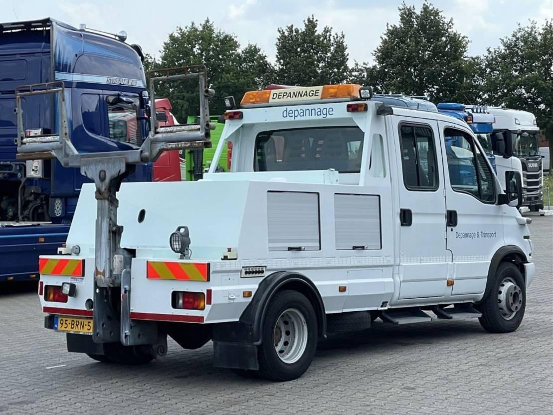 takelwagen-bergingswagen-vrachtwagen Iveco Daily 65 C 17D FIAULT 1500 LEPELAUTO 2005