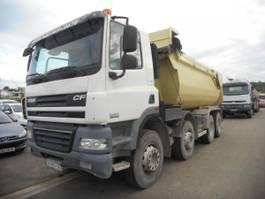 kipper vrachtwagen > 7.5 t DAF CF85 2012