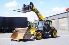 starre verreiker JCB 525-60 , Compact , 2.500kg-6m , forks + bucket 1,5m3 , joystick 2016