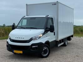 chassis cabine bedrijfswagen Iveco 35C14 2.3 3750 Bakwagen met laadklep 750 KG *Unieke KM-stand* 2019