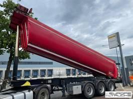 kipper oplegger Meiller KISA3 BPW - Steel - Isolation - Belgium - Weigh system