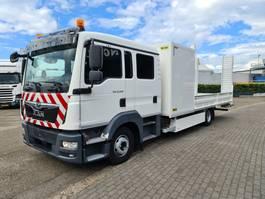 oprij vrachtwagen MAN TGL 12 .220  EURO 6 DOKA !!! DOBBEL CABIN !!! 2017