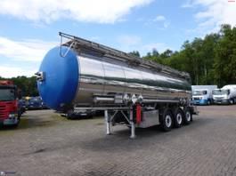 tankoplegger Feldbinder Chemical tank inox 30 m3 / 1 comp 2014