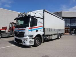 huifzeil vrachtwagen Mercedes-Benz Actros 1832 2014