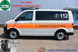ambulance bedrijfswagen Volkswagen T5 2.0 TDI 4 Motion Binz Notarzt - Rettung 1.Hd 2014